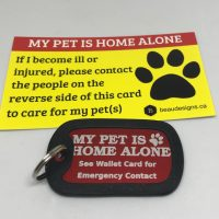 Emergency Contact Kit – My Pet Is Home Alone