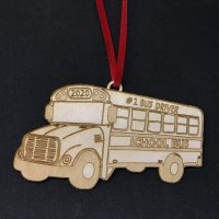 #1 Bus Driver Ornament