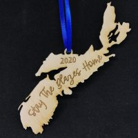 Nova Scotia – Stay the Blazes Home Ornament